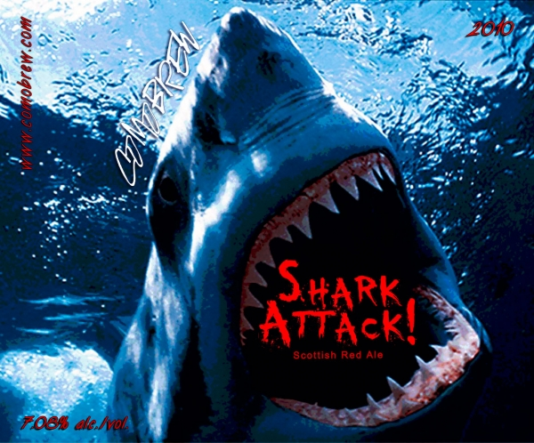Shark Attack! Scottish Red Ale